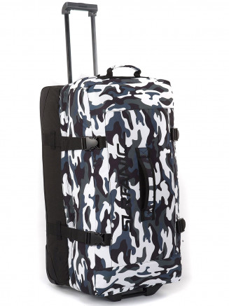 Mens Maxim 100L Roller Bag White