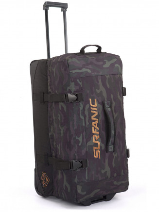 Mens Maxim 100L Roller Bag Green