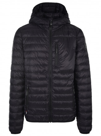Mens Flame Down Jacket Black