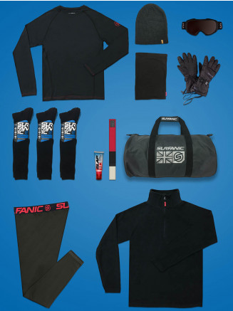 Mens Comfort Ski Package