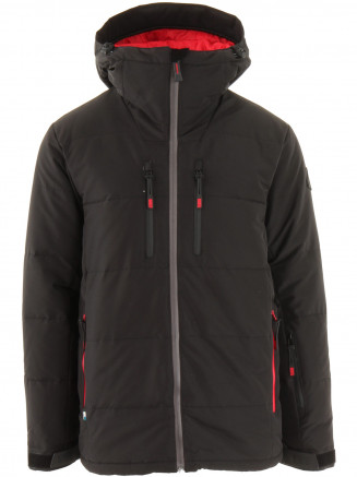 Mens Edge Hypadri Down Ski Jacket Black
