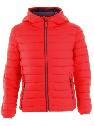 Boys Hawk Lightweight Down Jacket Red