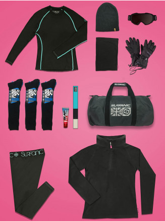 Womens Comfort Ski Package